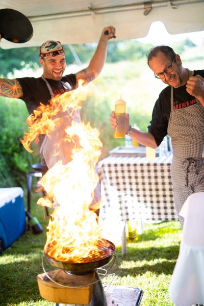 Trekkers Fired Up: Chef Tasting Event a Huge Success