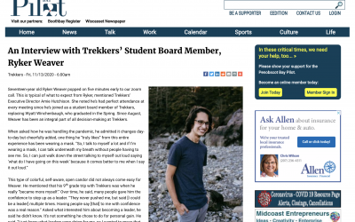 In the News: Student Ryker Weaver Joins Trekkers' Board of Directors